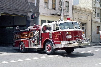 SAN FRANCISCO FD  ENGINE 3  1979 ALF CENTURY   1250-500   OFFICERS SIDE