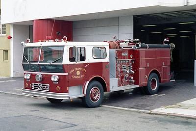 SAN FRANCISCO FD  ENGINE 14  1973  WLF P80   1250-500 (2)