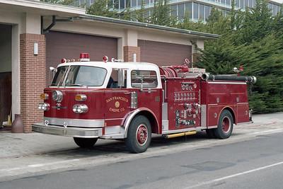 SAN FRANCISCO FD  ENGINE 10  1976  ALF CENTURY   1250-500