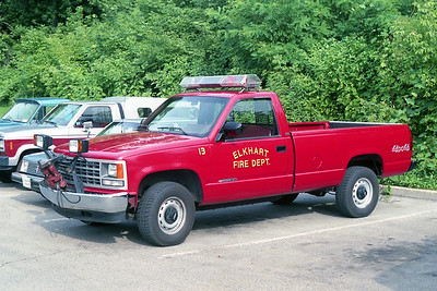 ELKHART FD IN  UTILITY 13  CHEVY 2500 4X4 PICKUP