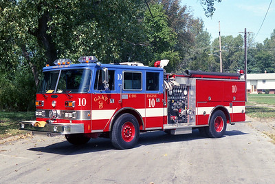 GARY FD IN  ENGINE 10  PIERCE ARROW