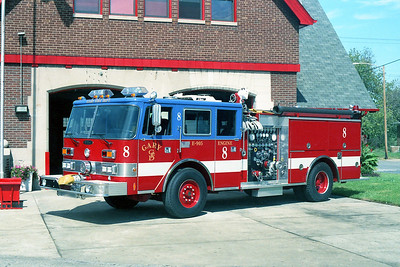 GARY FD IN  ENGINE 8  PIERCE ARROW