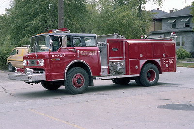 GARY FD IN  ENGINE 797  FORD C - E-ONE