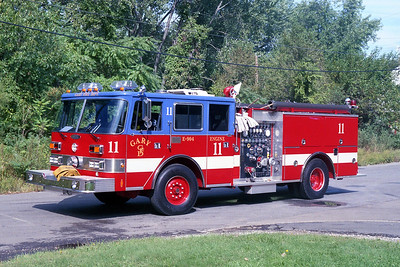 GARY FD IN  ENGINE 11  PIERCE ARROW