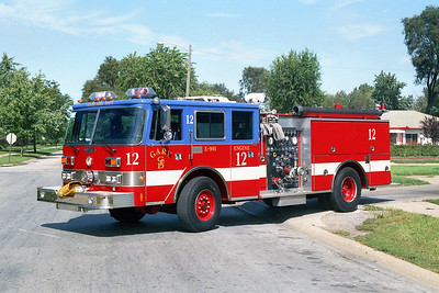 GARY FD IN  ENGINE 12  PIERCE ARROW