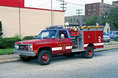GARY FD IN  FLYING SQUAD 2  CHEVY 4X4 - PIERCE
