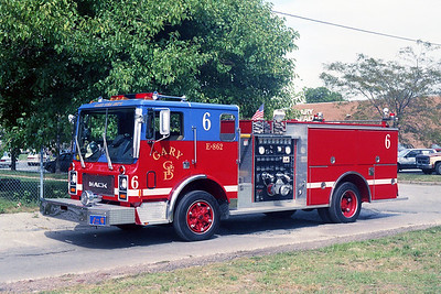 GARY FD IN  ENGINE 6  MACK MC - PIERCE