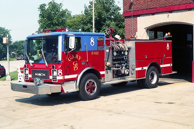GARY FD IN  ENGINE 8  MACK MC - PIERCE