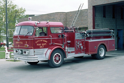 GARY FD IN  ENGINE 7  MACK