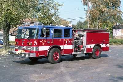 GARY FD IN  ENGINE 5  PIERCE ARROW