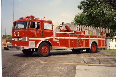 DAVENPORT  TRUCK 2  1978 PIRSCH  1000-300-85'  1991 ALEXIS REHAB   BILL FRICKER PHOTO