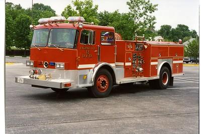 DAVENPORT  ENGINE 12  1979 PIRSCH - 1995 ALEXIS  1250-500  X-ENGINE 2  BILL FRICKER PHOTO