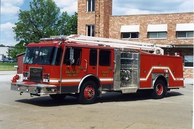 DAVENPORT  ENGINE 3  1997 SPARTAN - GENERAL  1250-400-54'  BILL FRICKER PHOTO