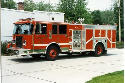 DAVENPORT  ENGINE 5  1994 SPARTAN - ALEXIS  1250-500   BILL FRICKER PHOTO