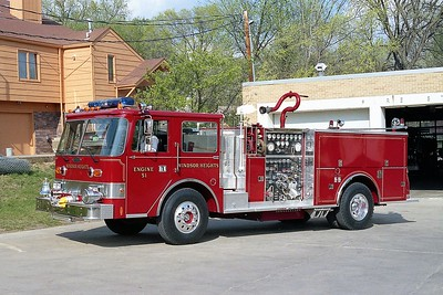 WINDSOR HEIGHTS  ENGINE  51   PIERCE ARROW
