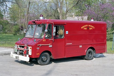 WINDSOR HEIGHTS  RESCUE 51  CHEVY STEPVAN