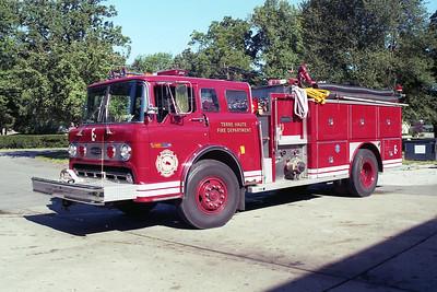 TERRE HAUTE FD  ENGINE 8  1979  FORD C8000 - E-ONE   1250-1000   #1021