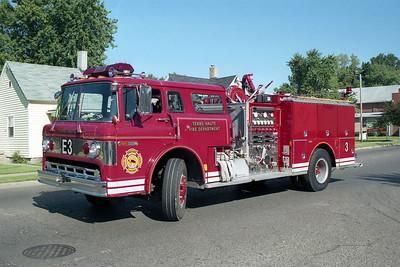 TERRE HAUTE FD  ENGINE 3  1986  FORD C-8000 - BOYER   1250-500