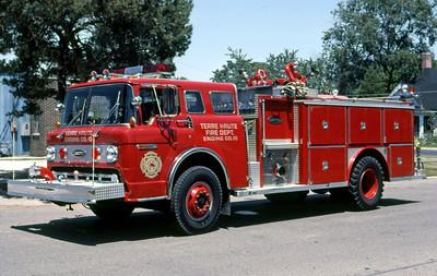 TERRE HAUTE FD IN  ENGINE 10  1979  FORD C - E-ONE   1250-1000  GARY KADZ PHOTO (1)