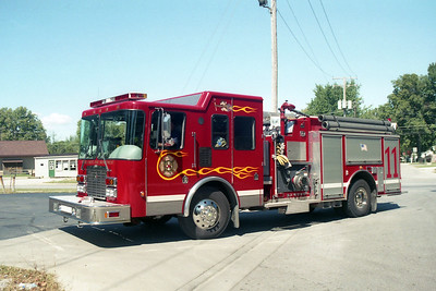 TERRE HAUTE FD  ENGINE 11  2002  HME - SMEAL   1500-1000-20F   #104280