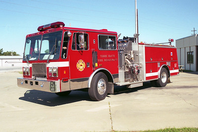 TERRE HAUTE FD  ENGINE 7  1991  HME RENEGADE   1250-500   GSO-1202