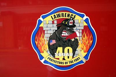 LAWRENCE SQUAD 40 LOGO