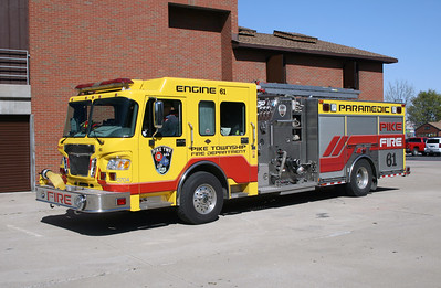 PIKE TOWNSHIP  ENGINE 61  SPARTAN -