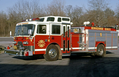 WAYNE TOWNSHIP FD - INDIANAPOLIS IN  ENGINE 1  1989  DUPLEX - YOUNG   1250-1000