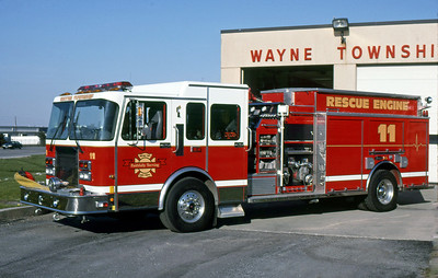 WAYNE TOWNSHIP FD - INDIANAPOLIS IN  ENGINE 11  1996  SPARTAN - LUVERNE   100-1000