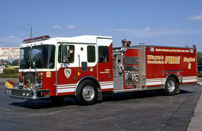 WAYNE TOWNSHIP FD - INDIANAPOLIS IN  ENGINE 2  1997  HME - LUVERNE   1500-1000-50F