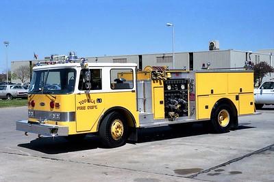 TOPEKA FD KS  ENGINE 3  1979  PIERCE ARROW  (O)  1500-500