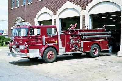 WICHITA FD  ENGINE 13  1974  ALF PACEMAKER   1250-500