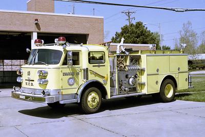 WICHITA FD  ENGINE 15  1983  ALF CENTURY   1250-500