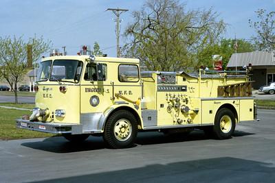 WICHITA FD  ENGINE 1  1978  SEAGRAVE   1250-500