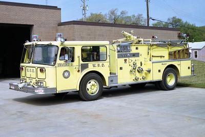 WICHITA FD  ENGINE 3  1979  SEAGRAVE   1250-500