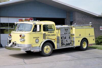 WICHITA FD  ENGINE 5  1982  ALF CENTURY   1250-500