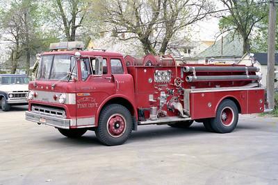 WICHITA FD  ENGINE 12R  1970  FORD C - BOARDMAN    750-500