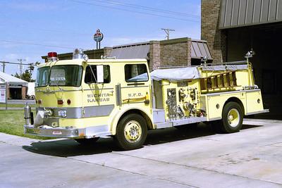WICHITA FD  ENGINE 16  1976  ALF PACEMAKER   1000-500