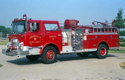 LOUISVILLE FD KY  ENGINE 3  MACK CF