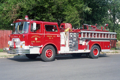 LOUISVILLE FD KY   ENGINE 10  MACK CF