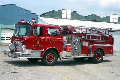 LOUISVILLE FD KY   ENGINE 18  MACK CF