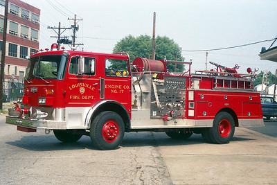 LOUISVILLE FD KY   ENGINE 17  PIRSCH