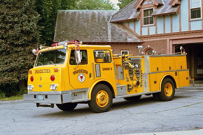 WORCESTER FD MA  ENGINE 9  1983  CONTINENTAL   1250-500