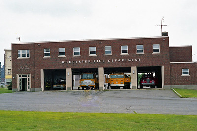 WORCESTER FD MA  FIRE STATION 2