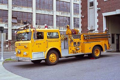 WORCESTER FD MA  ENGINE 1  1974  MAXIM F   1000-500