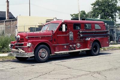 DETROIT FD  ENGINE 10  1965  SEAGRAVE 70th   1000-300