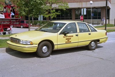 DETROIT FD  CAR 3  1991  CHEVY CAPRICE  CHIEF OF OPERATIONS