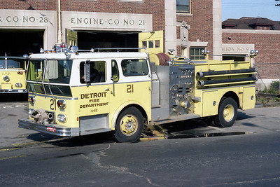 DETROIT FD  ENGINE 21  1976  WLF AMBASSADOR   1250-500