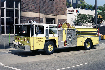DETROIT FD  ENGINE 1  1982  HENDRICKSON - GRUMMAN   1250-500   SIDE OF STATION