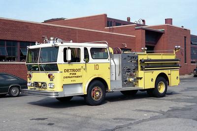 DETROIT FD  ENGINE 10  1976  WLF AMBASSADOR   1250-500